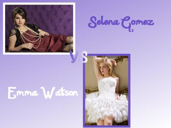 Selena VS Emma