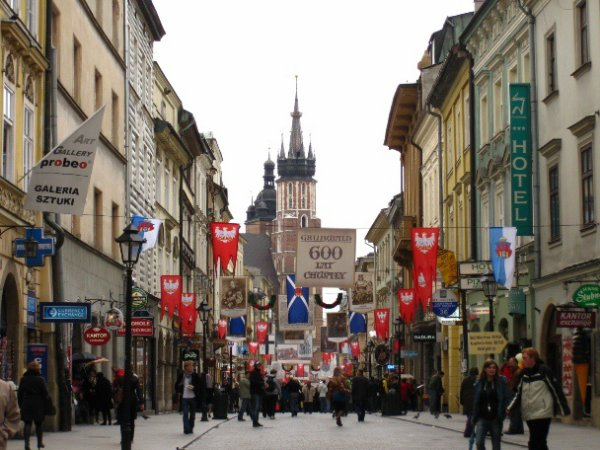 pologne: cracovie