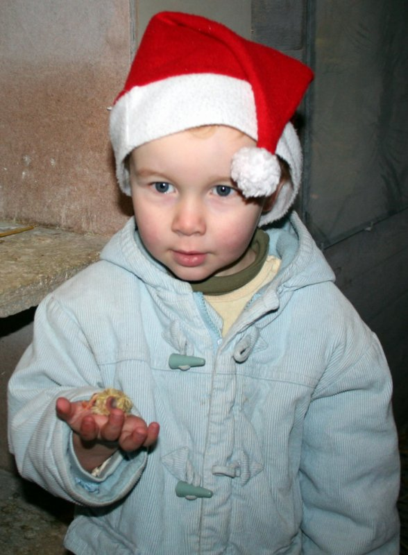 Florian vous présente le premier jeune qui sera bagué 2013