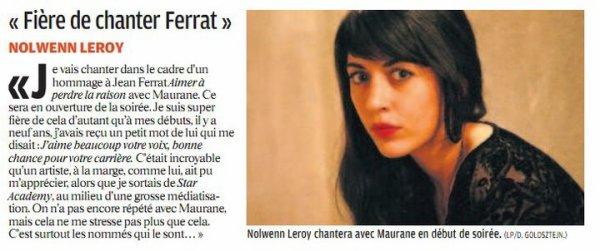 Nolwenn Ce Soir Dans Les Victoires De La Musique Sur France 2  ! :D