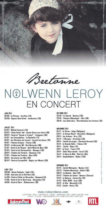 Nouvelle dates pour la tournée Autonme/Hiver de Bretonne