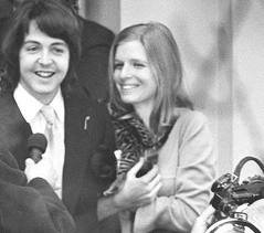 Paul et Linda McCartney (Eastman)