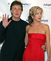 Paul et  Heather Mills