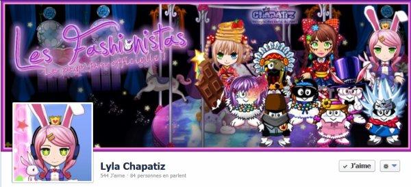 LyLa sur Facebook : Nouvelle Couverture !