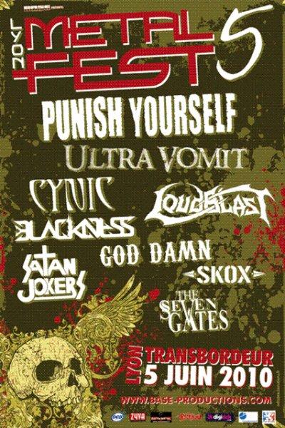 Live report Lyon Metal Fest V    05/06/2010 @ Transbordeur (Lyon)