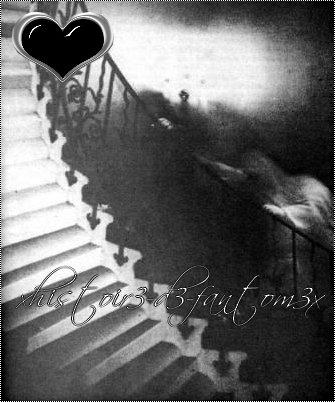 fantomes dans une cave