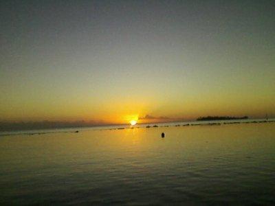 Le Couché du Soleil à Bora Bora