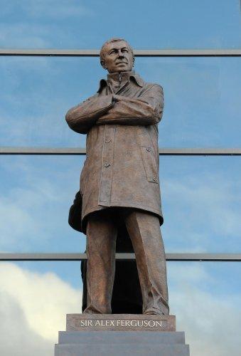 MU : Ferguson a sa statue !