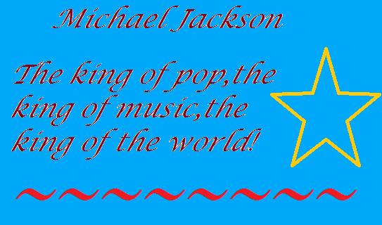 "Montage ""Michael the king..."""