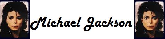 Vente de montage : Bannière Michael Jackson pour ton blog!