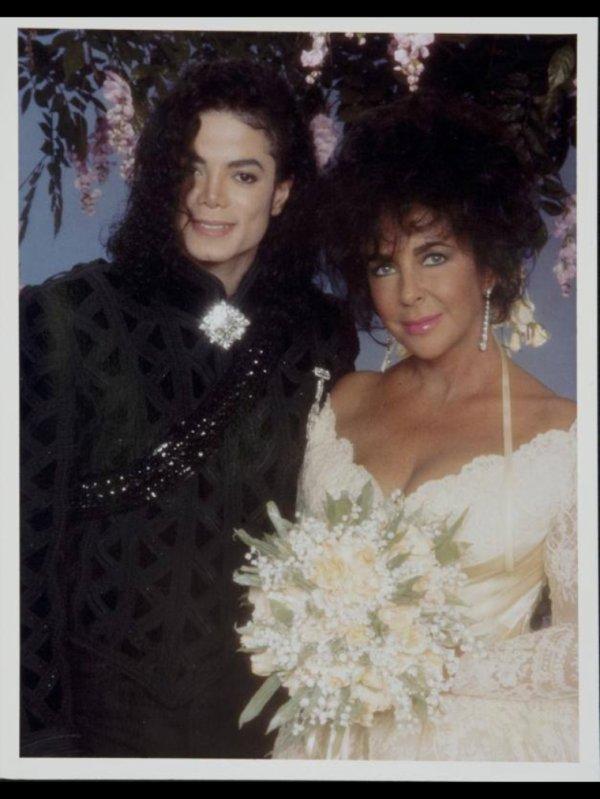 Photos du mariage de Elisabeth Taylor à Neverland