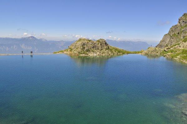 La balade de la lance du Domène avec le lac de crozet