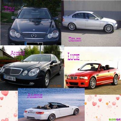 Les voitures!!!!!!!
