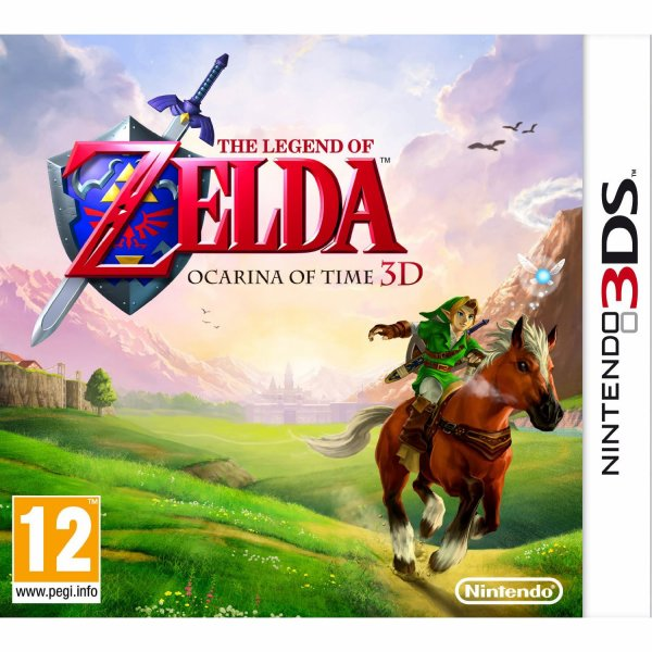 Zelda Ocarina of Time sur 3ds