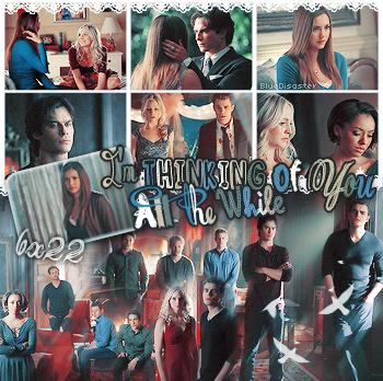 • Bluedisaster » The Vampire Diaries, Season Final Saison 6 •  → .Création. .Décoration. .Texte.