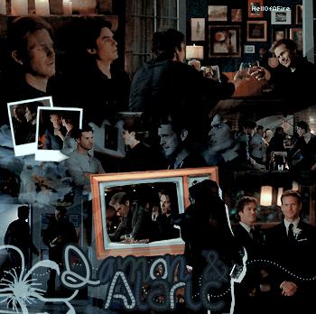 • Bluedisaster » Damon & Alaric •  → .Création. .Décoration. .Inspi.  .Texte.