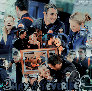 • Bluedisaster » Shay & Severide •  → .Création. .Décoration. .Inspi.  .Texte.