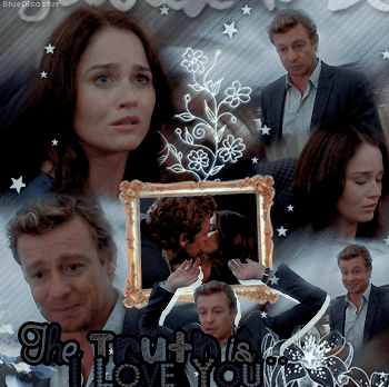• Bluedisaster » Jane & Lisbon : The Truth is... I Love You •  → .Création. .Décoration. .Texte.
