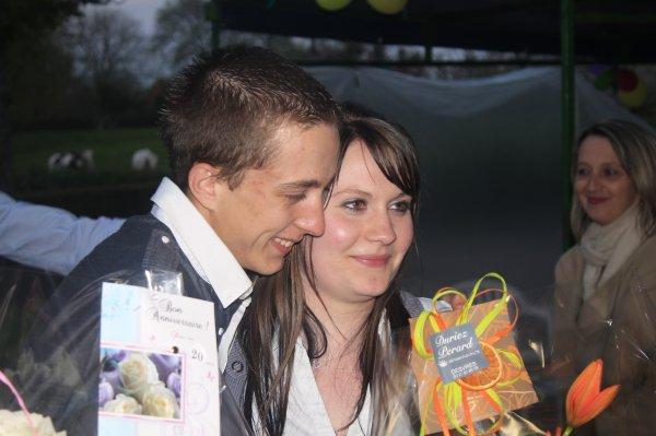 Dimanche et lundi: 20 ans Stéphanie et Anthony
