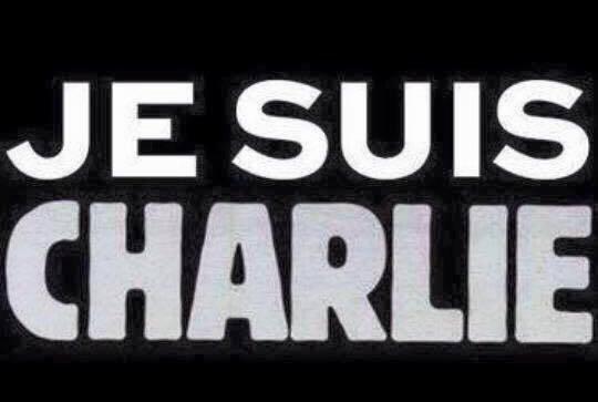 hommage aux victime de l'attentat dans les locaux de charlie hebdo à paris
