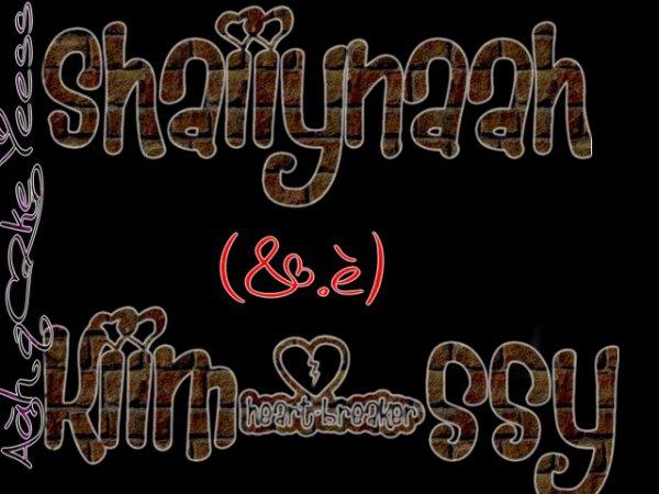 SHAiiYNAAH_ZgarDy &.è KiiM_SSY.KHELiiAH DAANS LE GAAMME (Yy'