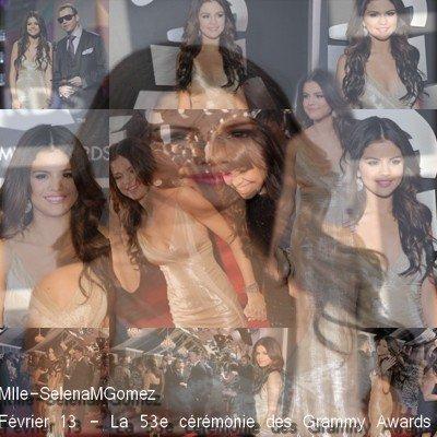 Février 13 - La 53e cérémonie des Grammy Awards
