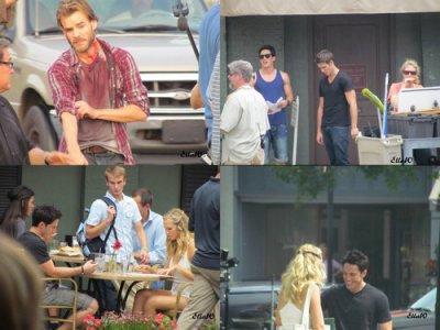 Photos du tournage de la saison 3