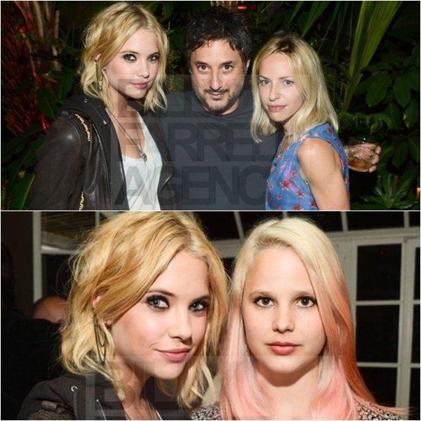 12.05.12 Ashley & Keegan se sont rendus à l'after-party de l'exposition « Rebel » de James Franco dans West Hollywood, à L.A.