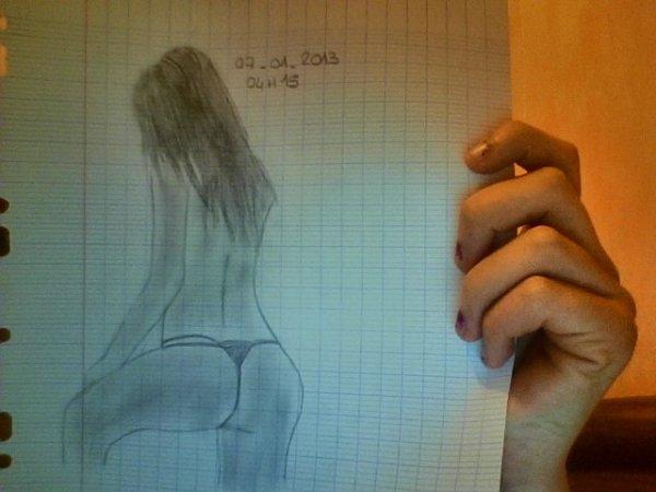 Mes nouveaux dessins Fait le: 07/01/2013 <3