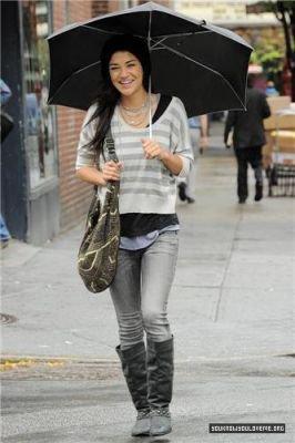 Jessica Szorh le 28 septembre à NYC