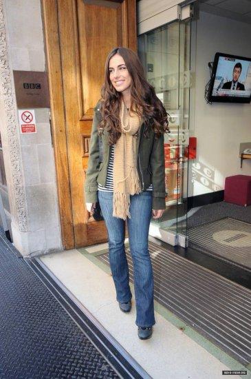 Jessica Lowndes le 26 octobre à Londres