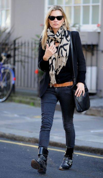Kate Moss à Londres