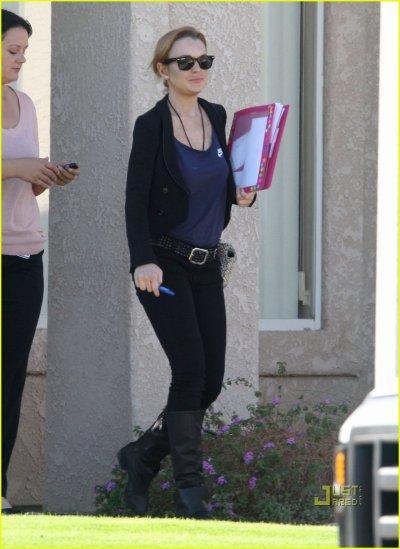 Lindsay Lohan le 11 novembre en Californie