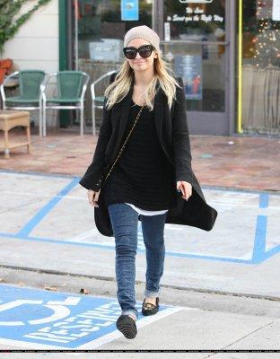 Nicole Richie le 30 decembre à LA