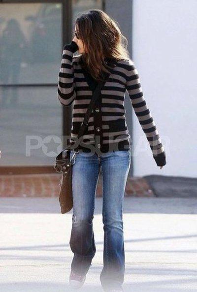 Mila Kunis le 1er fevrier à West Hollywood