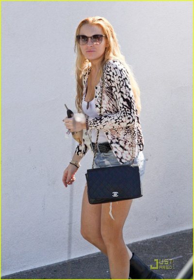Lindsay Lohan le 21 janvier à LA