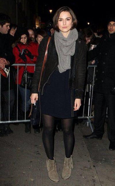 Keira Knightley à Londres