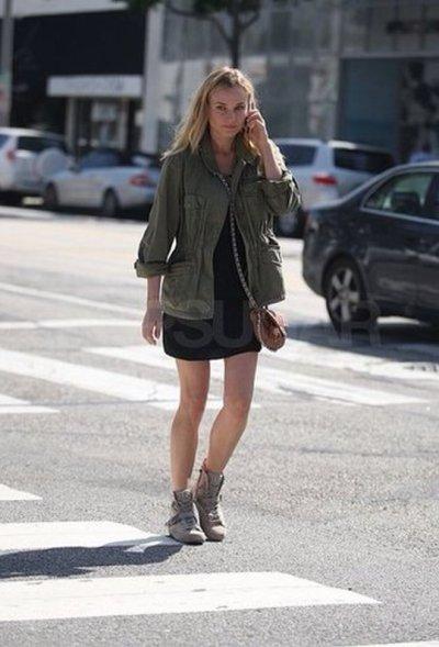 Diane Kruger à Los Angeles