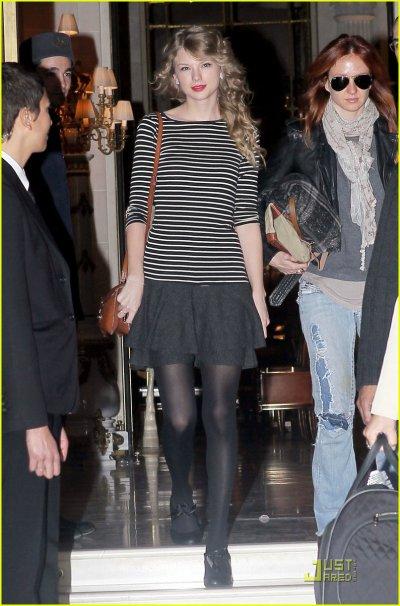 Taylor Swift le 17 mars à Paris