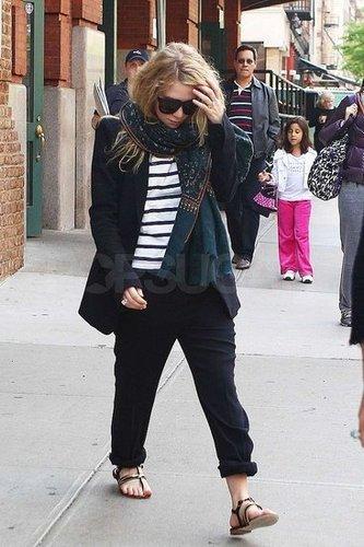 Ashley Olsen le 4 mai à NYC