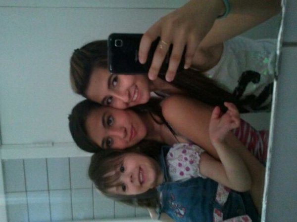 Ma Copine, ma niece et moi