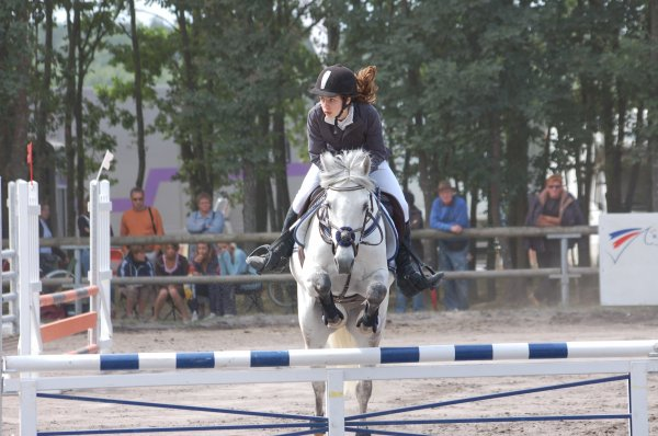 Championnat de France 2oo9 : Club POney élite Cadet :)