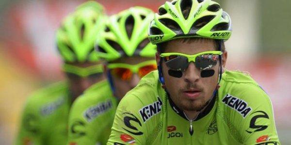 Peter Sagan et son maillot vert.
