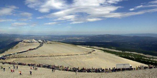 Quinzième étape: le mont Ventoux.