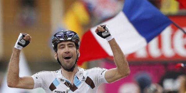 Christophe Riblon vainqueur d'étape.