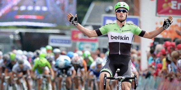 Renshaw surprend Greipel sur le Tour du Bénélux.