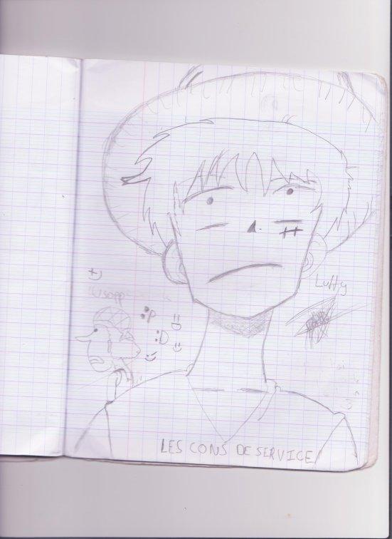 Je l'ai dessiné en 5 minutes devant la télé x) By Diego