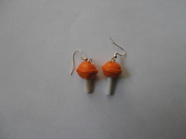 Chupas-chups à l'orange
