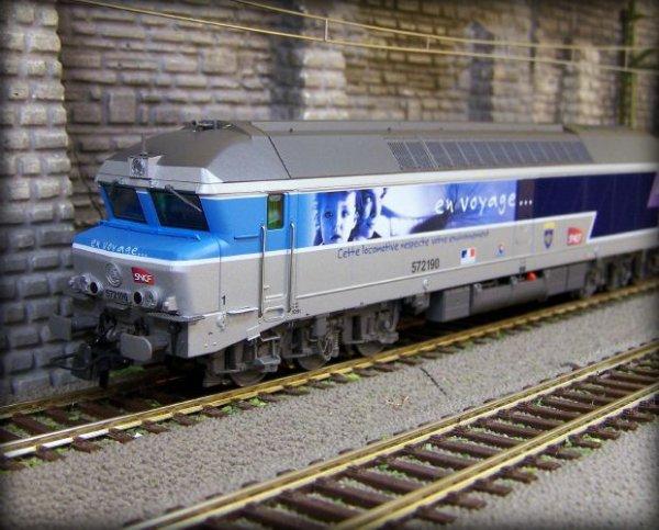 """Locomotive """"En Voyage"""""""