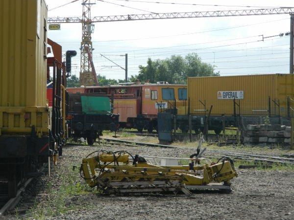 Dépôt de chez Colas Rail (Les Mureaux, 78)